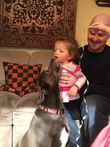 Zoey meets Zoey!